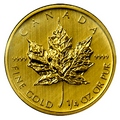 Sell 1/4 oz Maple Leaf