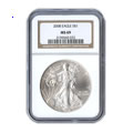 Sell Certified Silver Eagles