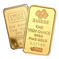 Sell Credit Suisse Gold Bars
