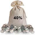 40% Silver Coin