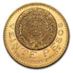 Gold 20 Pesos