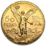 Gold 50 Pesos