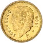 Gold 5 Pesos